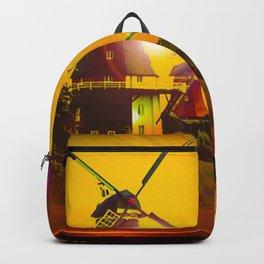 Greetsiel  Zwillingsmühlen Backpack