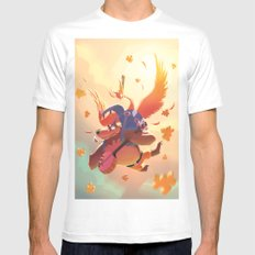 Banjo Kazooie MEDIUM Mens Fitted Tee White