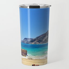 Sunny beach on Porto Santo (RR 276) Travel Mug