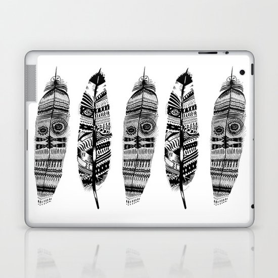 Feather time  Laptop & iPad Skin
