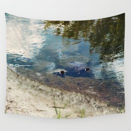 Two Turtles Wall Tapestry