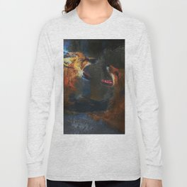 Fighting Foxes Long Sleeve T-shirt