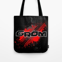 GROM, Red Tote Bag