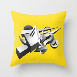 geoMETRICA Throw Pillow