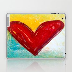 Abstract Heart 2 Laptop & iPad Skin
