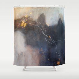 Let It Hold Your Hand Shower Curtain