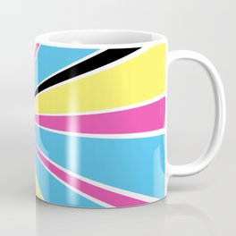 CMYK Star Burst Coffee Mug