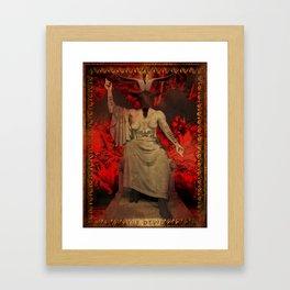 Baphomet Tarot Framed Art Print