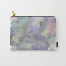 Floral Watercolor Abstract Carry-All Pouch