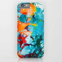 Sana, the colorful woman iPhone Case