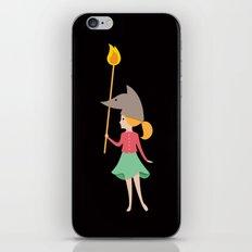 Wolfbelina iPhone & iPod Skin
