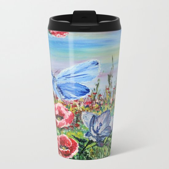 Waltzer Metal Travel Mug