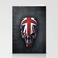 british flag Stationery Cards featuring British horror by GrandeDuc