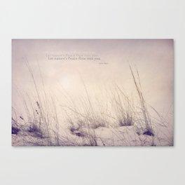 Nature's Peace Canvas Print
