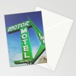 Motor Inn Motel Stationery Cards