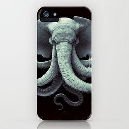 Octoelephant iPhone Case