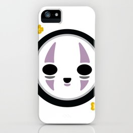 Kawaii No Face iPhone Case
