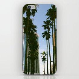 Palm Tree City iPhone Skin