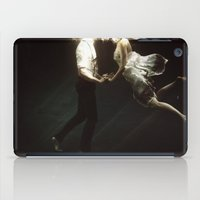 woman iPad Cases featuring abyss of the disheartened VII by Heather Landis