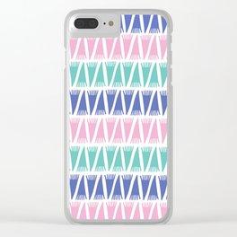 Tee Pee Pop Clear iPhone Case
