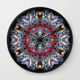 Inked to the Bone Mandala Wall Clock