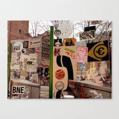 Birita Sticker 5 - Amsterdam Canvas Print