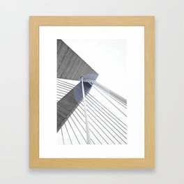 The Bridge 002 Framed Art Print