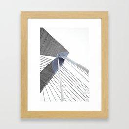 The Bridge 002 Framed Art Print