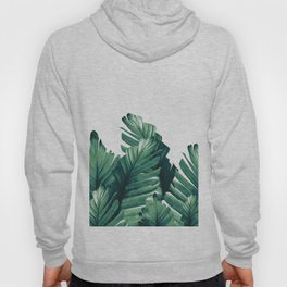 Green Banana Leaves Dream #1 #tropical #decor #art #society6 Hoody