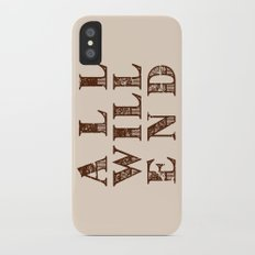 All Will End iPhone X Slim Case