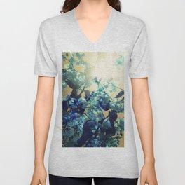 Sunny Blue Unisex V-Neck