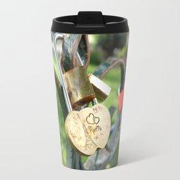 Love Locked in Paris Travel Mug