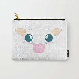 Fuzzy Poro Carry-All Pouch