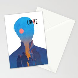 Unlife: Red Eye Stationery Cards