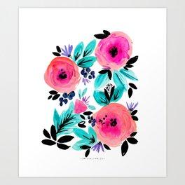 Savannah Flower Art Print