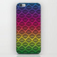 Warp Field (Rainbow) iPhone & iPod Skin