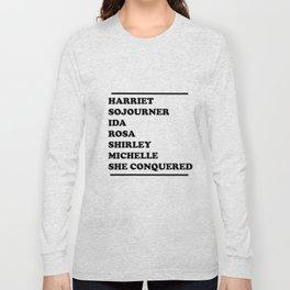 honoring black women Long Sleeve T-shirt