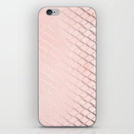 Rosegold Ribbon II iPhone Skin