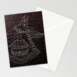 Anubis Egyptian God Stationery Cards