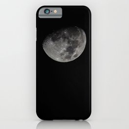 White Moon iPhone Case