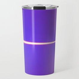 Purple light Travel Mug