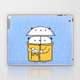 Opi y Kipi en la lluvia Laptop & iPad Skin