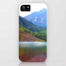 Maroon Bells, Colorado iPhone Case