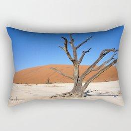 Skeleton tree in Namibia Rectangular Pillow