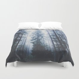 The mighty pines Duvet Cover