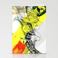 donkey kong Stationery Cards featuring I WILL DEFEAT DONKEY KONG by Samantha Chiusolo