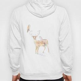 Deer with friends Hoody