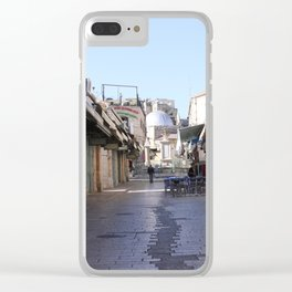 Alone Clear iPhone Case