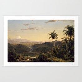 Cotopaxi by Frederic Edwin Church Art Print