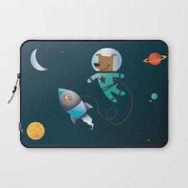 Space Dog Laptop Sleeve